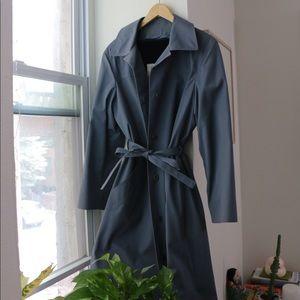 Vintage London Fog Maincoats Blue Trench Coat
